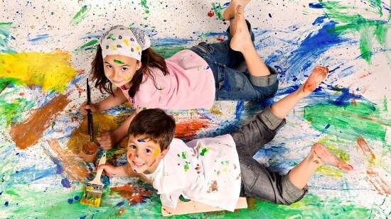 Как убрать пятна от краски