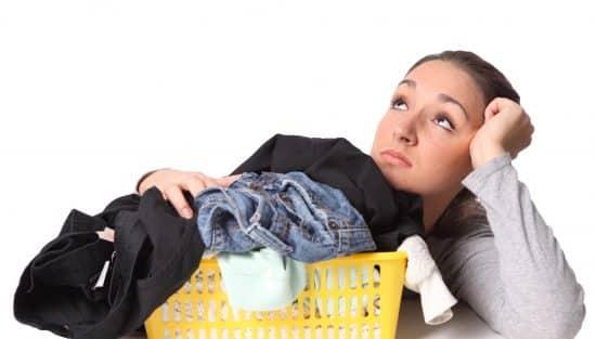 Отстирываем масло с одежды