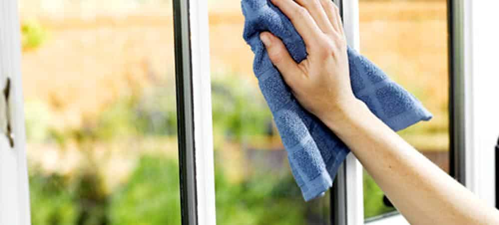 How to quickly wash the window