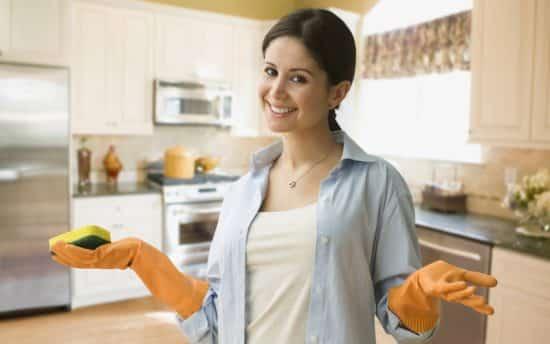 Как сделать генеральную уборку кухни