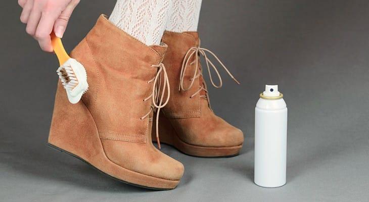 Как постирать замшевую обувь