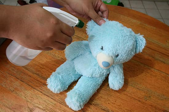 How to clean a soft toy that can not be washed