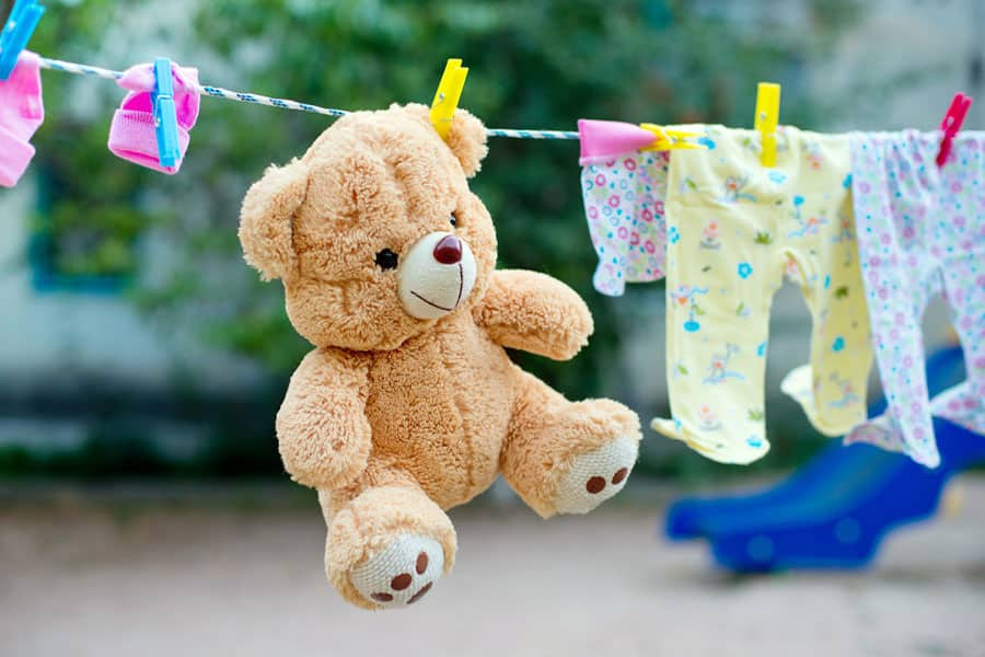 How to wash soft toys