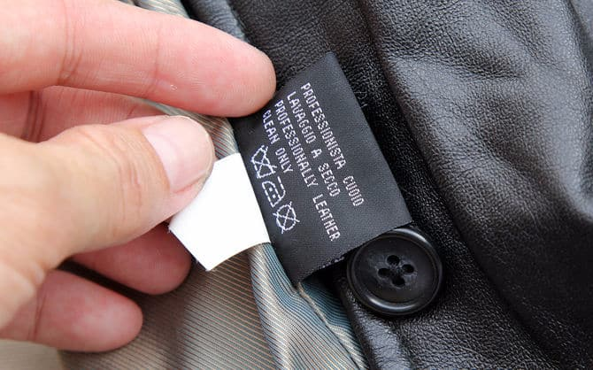 How to wash a leather jacket