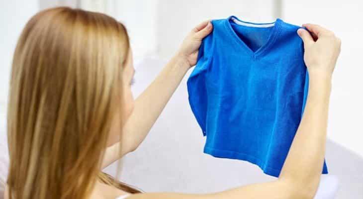 Как постирать одежду чтобы она села