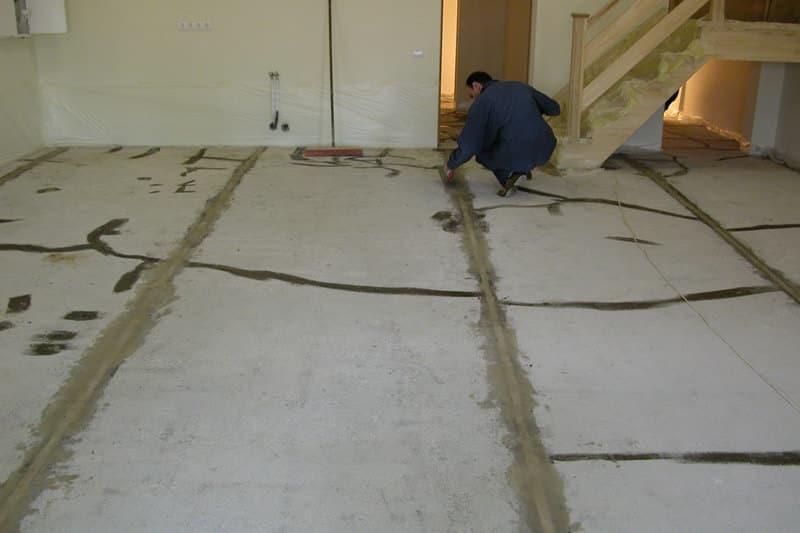 Полимерные наливные полы для дома