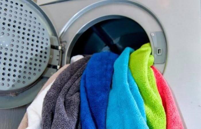 Почему полотенца после стирки в автомате жесткие