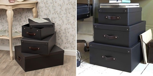 What are storage boxes for?