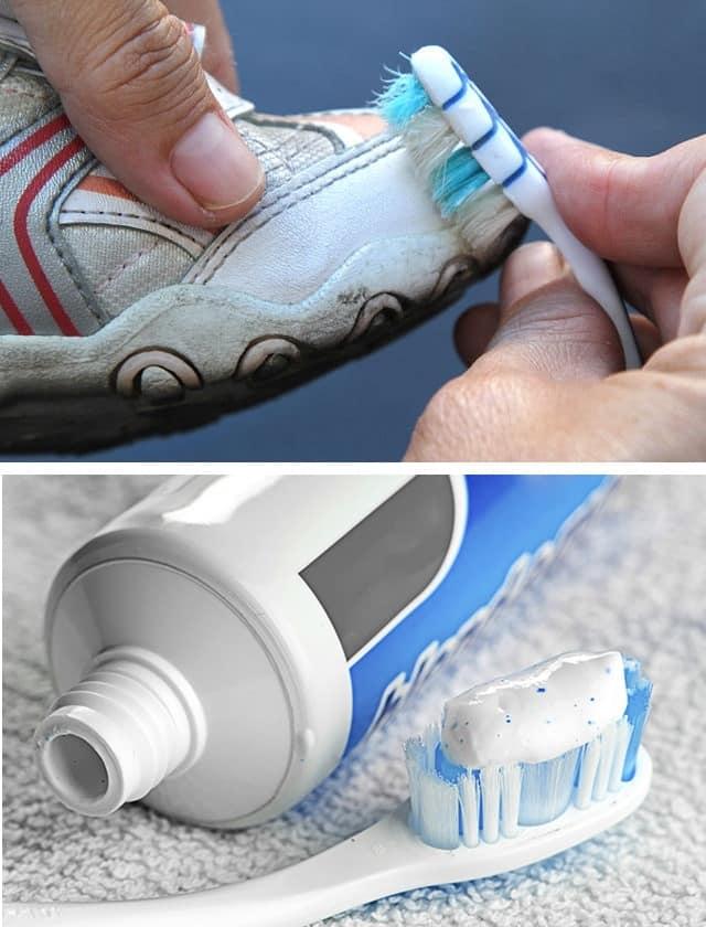 Как отстирать белые шнурки до белизны