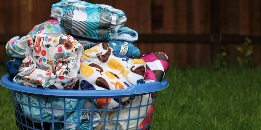 how to wash reusable diapers