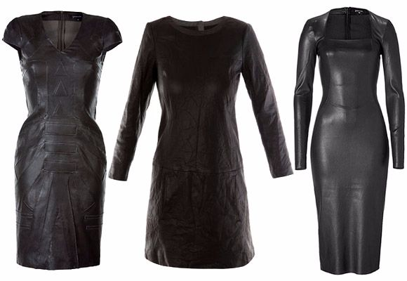 How to wash a dress from eco-leather