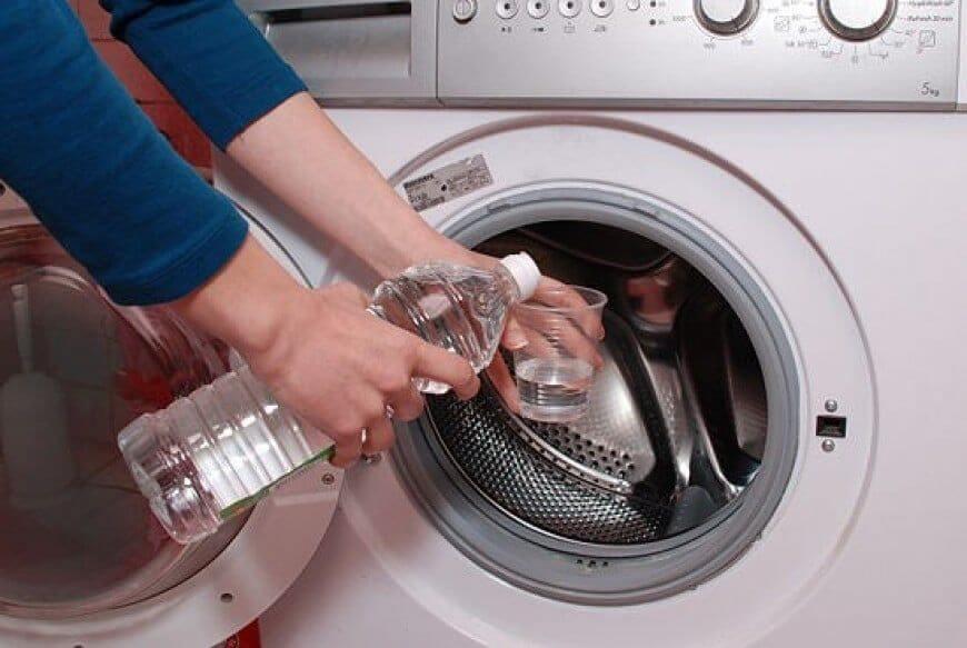 Как стирать с уксусом