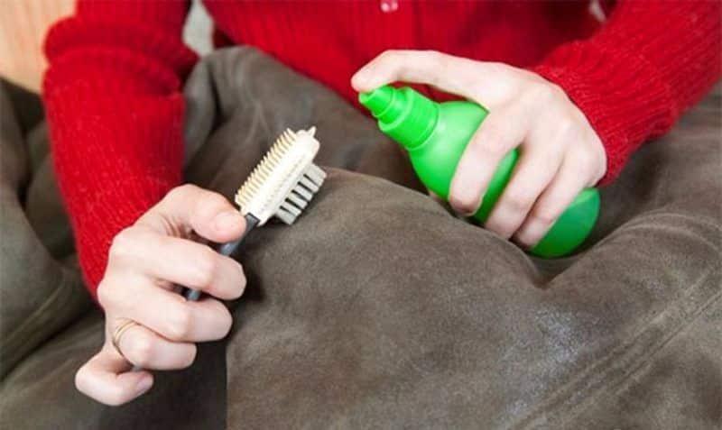 Как убрать лоснящиеся пятна с куртки