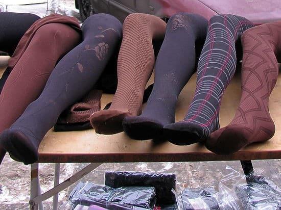 как отстирать капроновые колготки от следов обуви