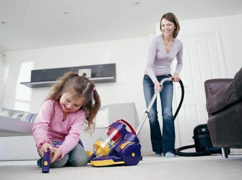 как быстро убраться в детской комнате