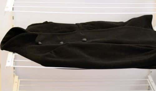 Сушка кашемирового пальто
