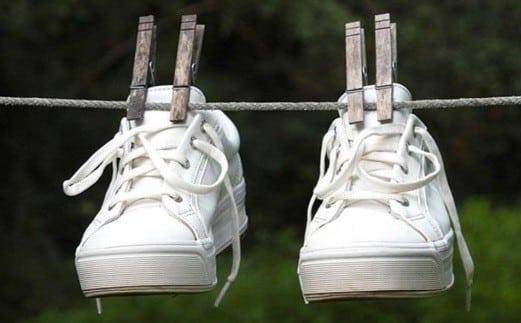 Правильно сушим кроссовки