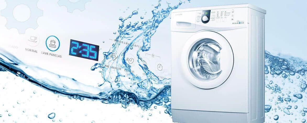 Вода в стиральной машине после стирки