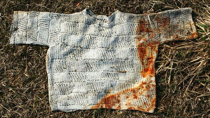 Как вывести ржавчину на одежде уксусом