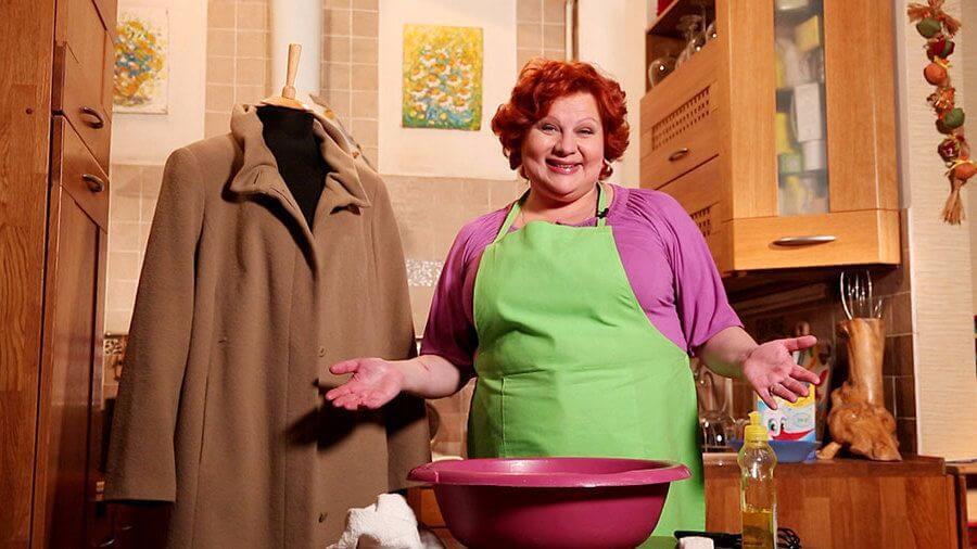 Как чистит пальто в домашних условиях 912